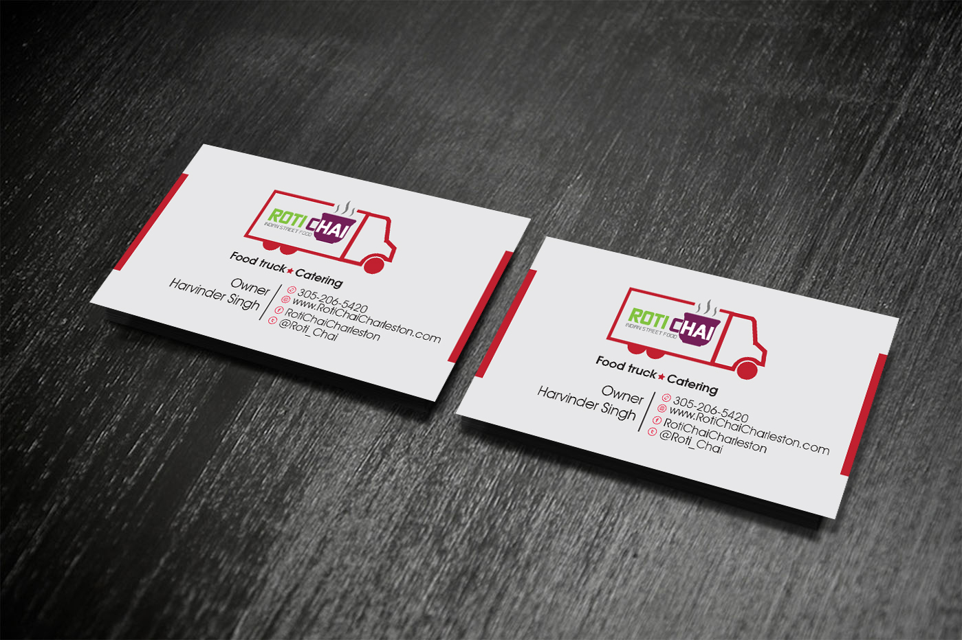 45 Playful Business Card Designs | Indian Restaurant Business Card ...