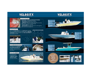 Brochure Design by Michele_co - Velocity Powerboats