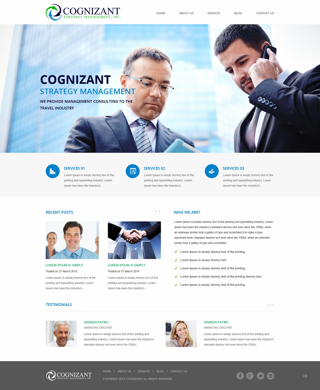 Web design for driveprofit llc by pb design 4663205 for Consulting website