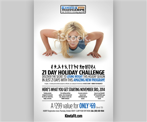 Poster Design by Brian Ellis - 21 Day Holiday Challenge