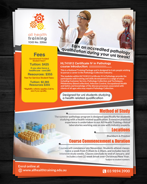 18 Professional Healthcare Flyer Designs for a Healthcare business ...