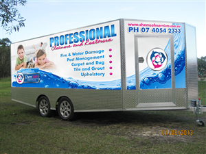 Signage Design by Allan Poe - Vehicle and Trailer Signage, Vehicle Wrap, Need...