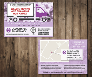 Flyer Design by Mila@CreativeMotions - Pharmacy Moving Flyer Design