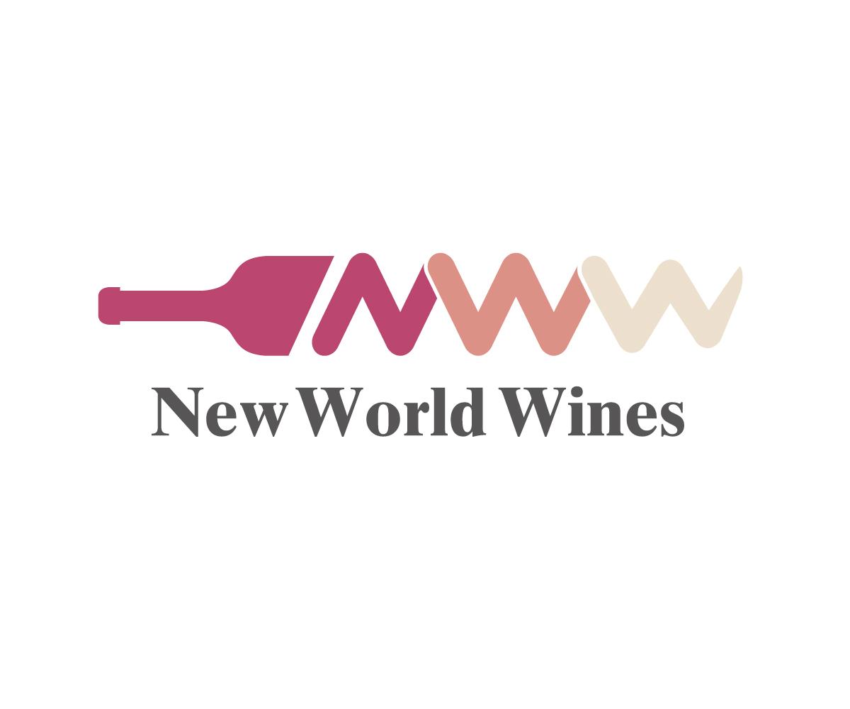 New World Wines Logo Design by patramet
