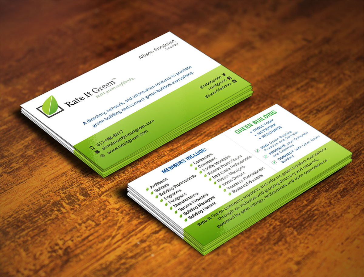 Business Card Design for a Company by Poonam Gupta | Design #4657081