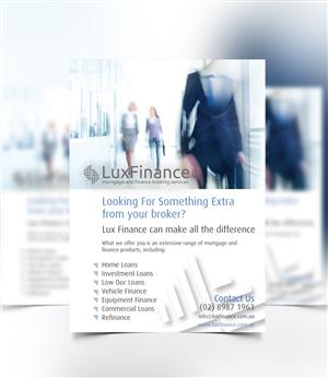 Flyer Design by DAStudioDesigns - Lux Finance Flyer Design