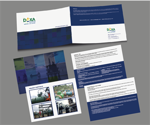 Brochure Design by Tornado - DOXA OIL BROCHURE