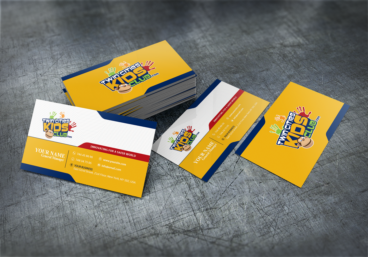 Playful, Colorful Business Card Design for Brian by Pro Templates ...