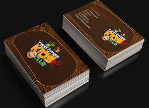 Brown business card design galleries for inspiration page 3 twin cities kids club business card project business card design by ahmed fahmy reheart Image collections