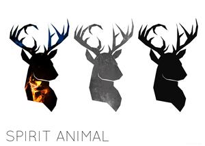 Logo Design for Spirit Animal clothing needs minimalist animal logo by LittleRed