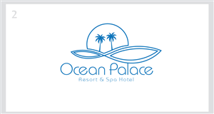 Logo Design by ESolz Technologies - Ocean Palace Resort & Spa need a Creative Logo ...