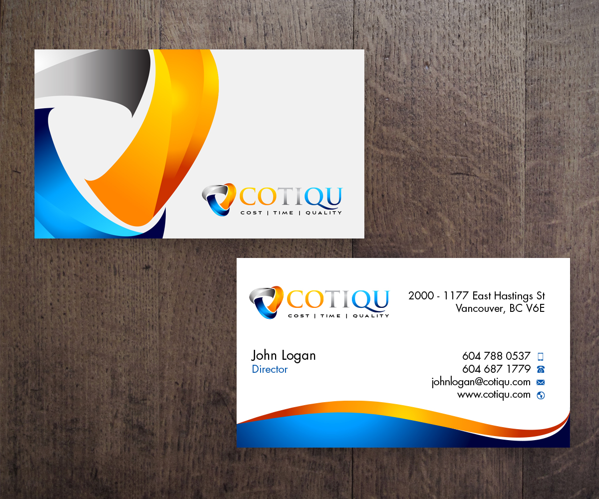 2 business card designs business business card design project for business card design by ironmaiden for this project design 4712652 reheart Gallery