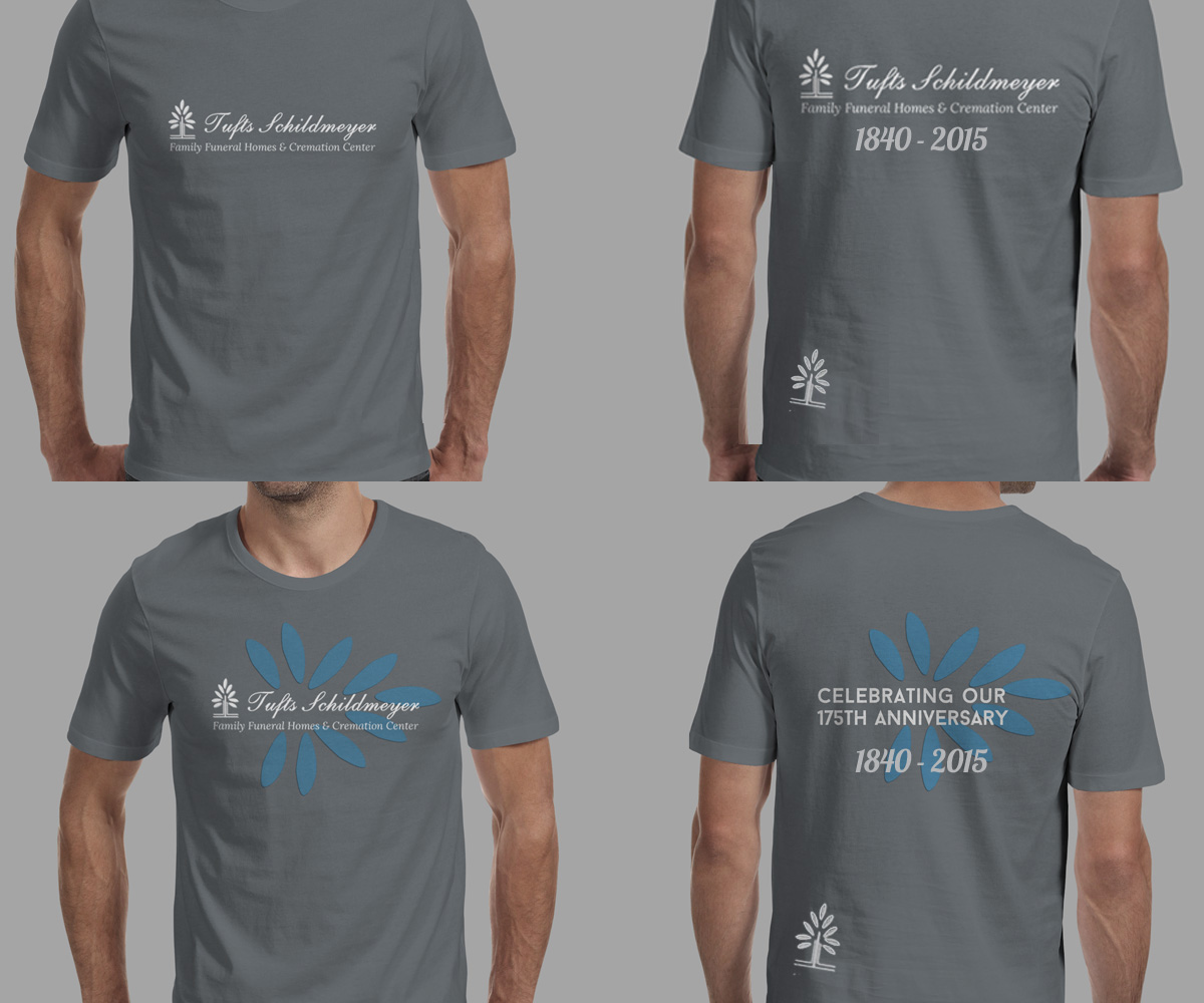 t-shirt design for larry schildmeyerjenn smith | design #4706883