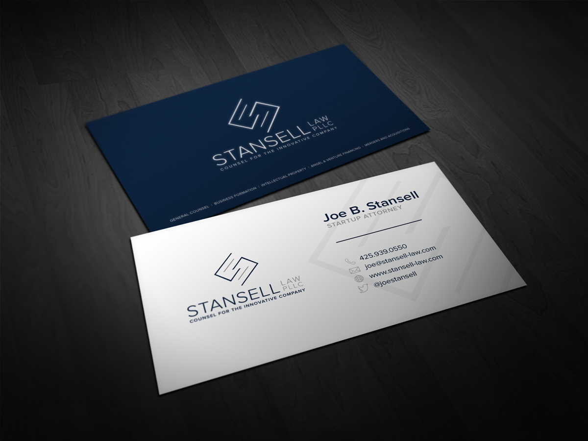 Modern, Elegant Business Card Design for Joe by ddamian_dd ...