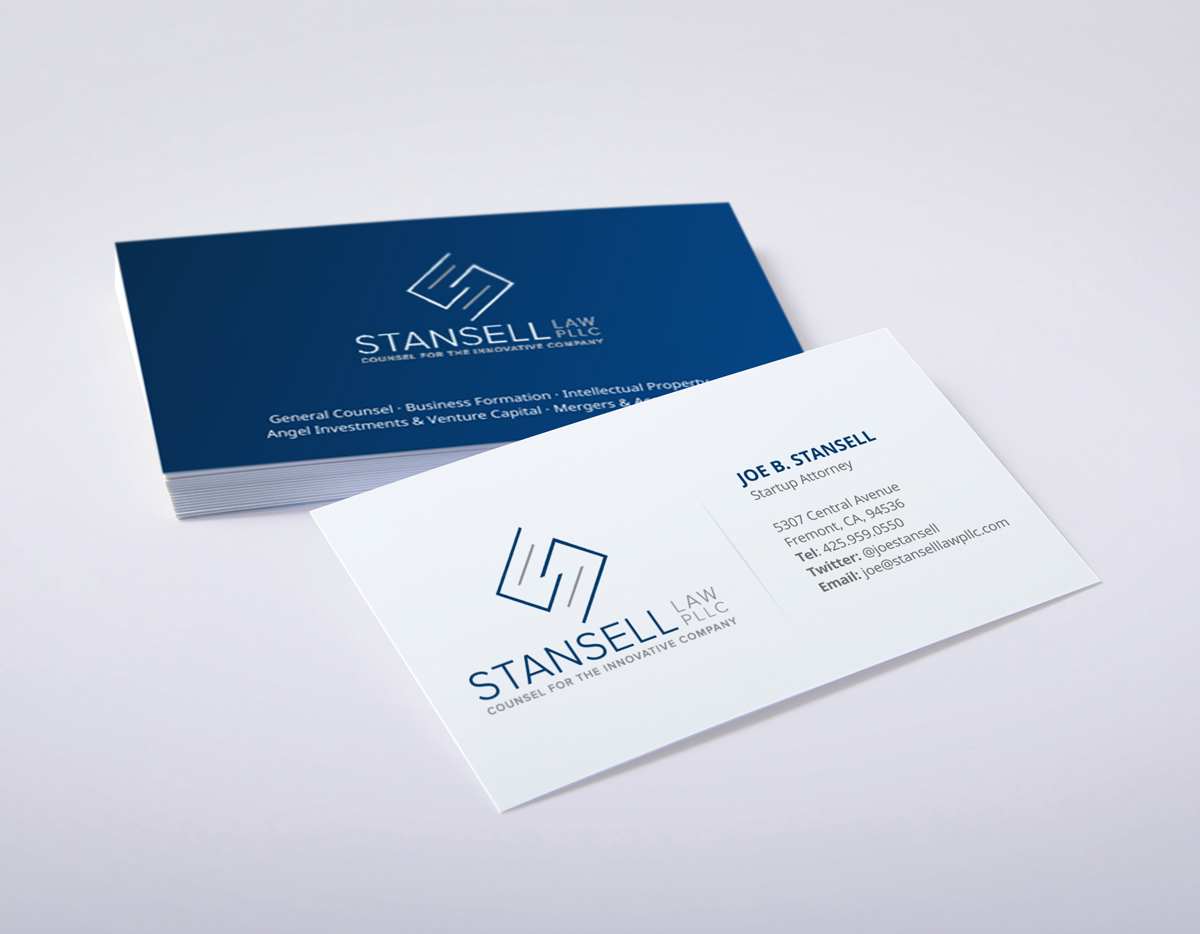 Modern, Elegant Business Card Design for Joe by logodentity ...