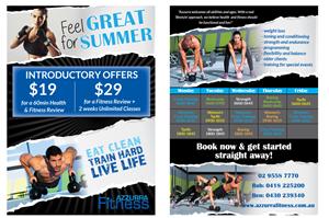 Flyer Design by GraphiCat Studio - Functional Fitness Studio needs a flyer designi ...