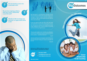 Flyer Design by Theziners - Tri-Fold Flyer for Life Coaching Business