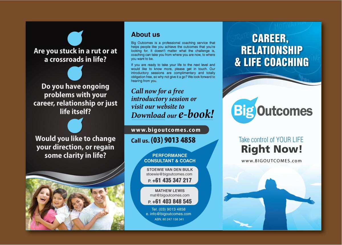 Modern, Fett , Life Coaching Flyer Design für a Company von Sbss ...