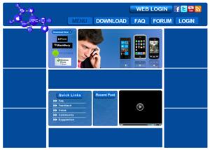 Web Design by Roberto - CALLTU homepage