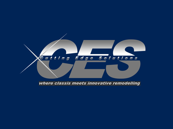 Elegant Playful Construction Logo Design For Ces Cutting Edge