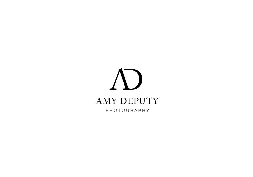 Modern upmarket logo design for amy deputy by birdcage for Minimal art logo