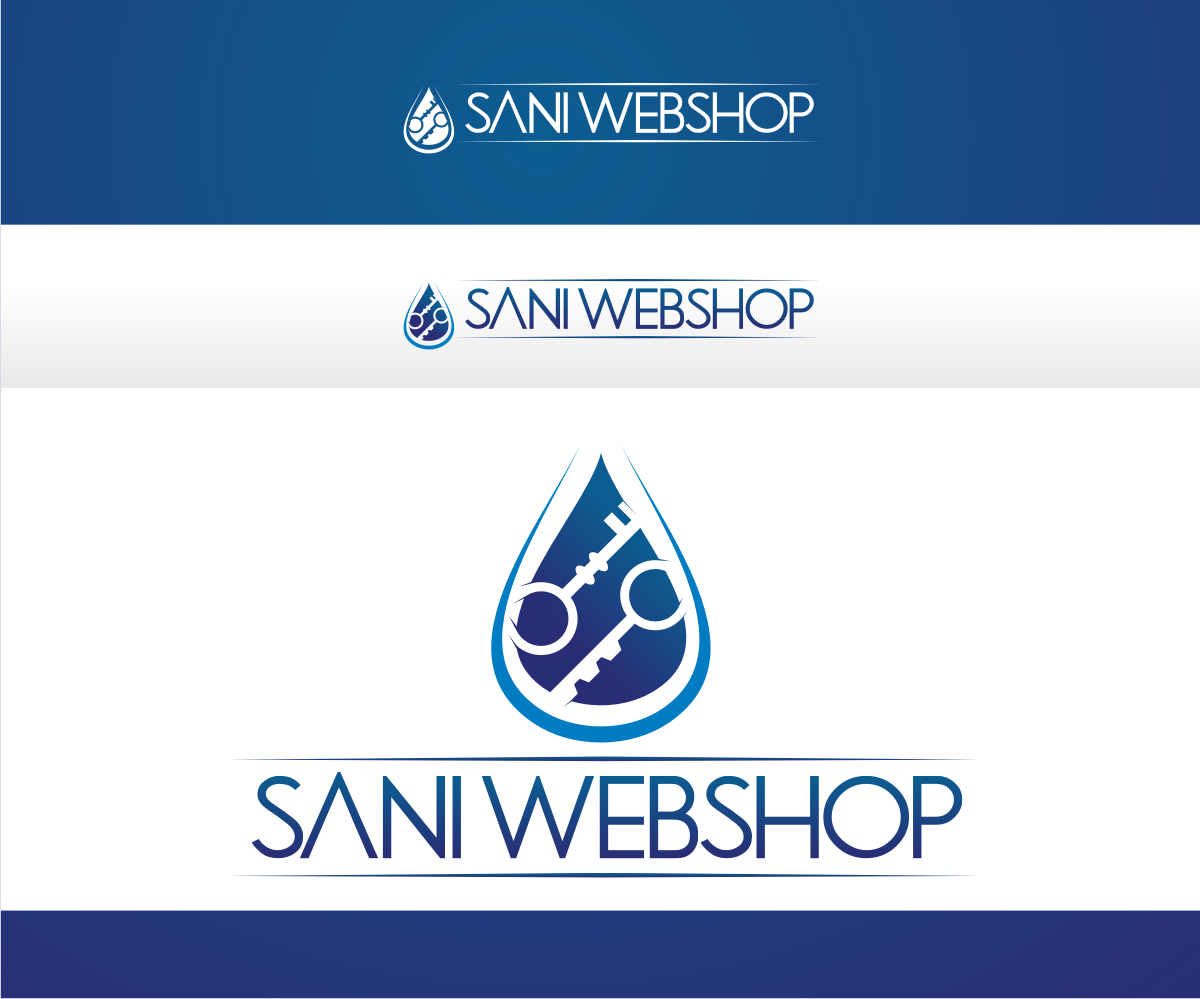 Colorful elegant e commerce logo design for sani webshop for D for design