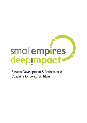 Logo Design by Colada - Small Empires. Deep Impact.
