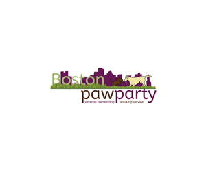 Logo Design for Re-do original Logo for Boston Paw Party by ivaneldeming