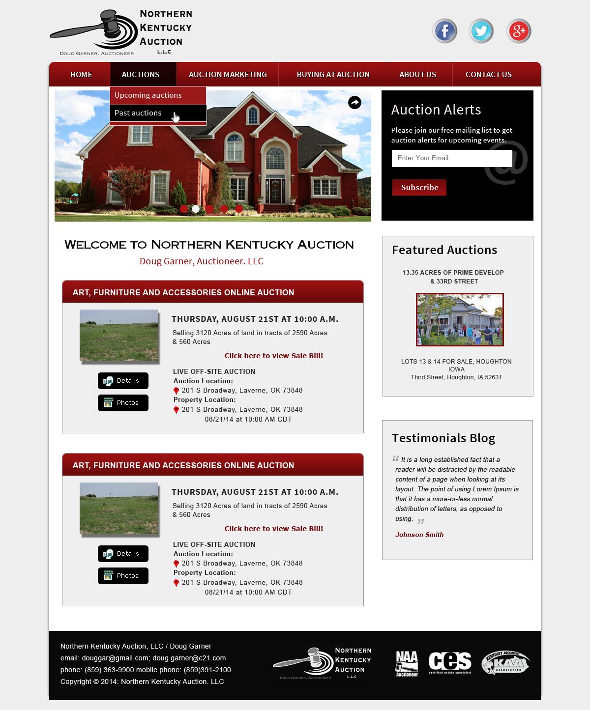 Modern, Professional, It Company Wordpress Design for