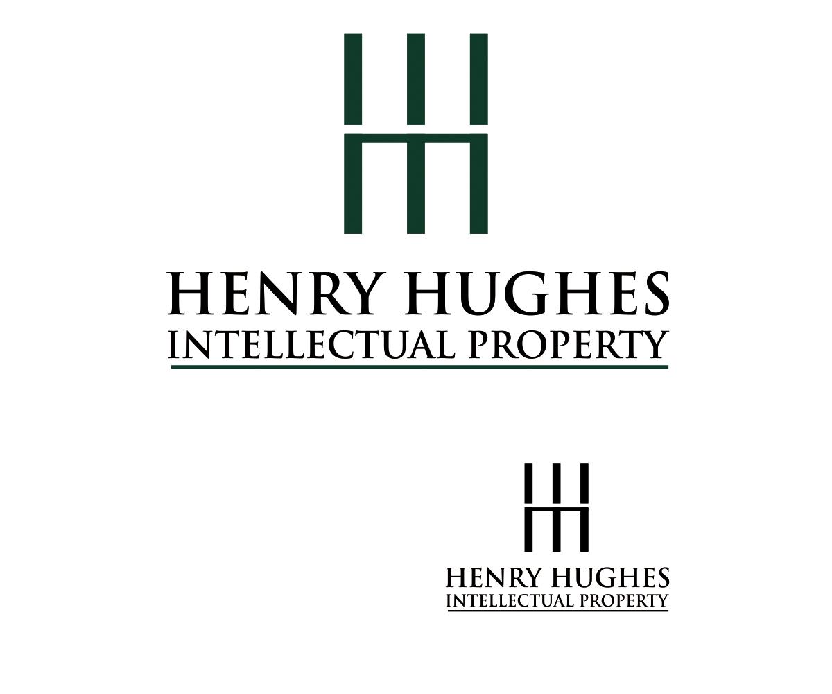 Intellectual Property Logo: Property Logo Design For Henry Hughes Intellectual