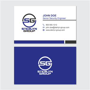 32 professional conservative business card designs for a business