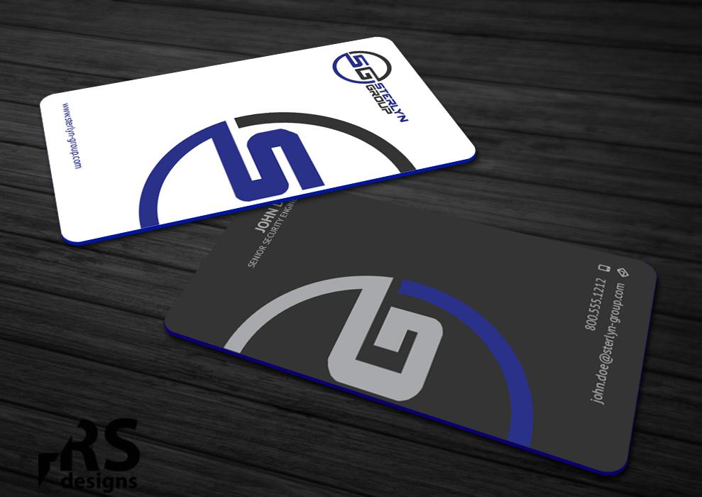Professional, Conservative Business Card Design for Lige Hensley ...