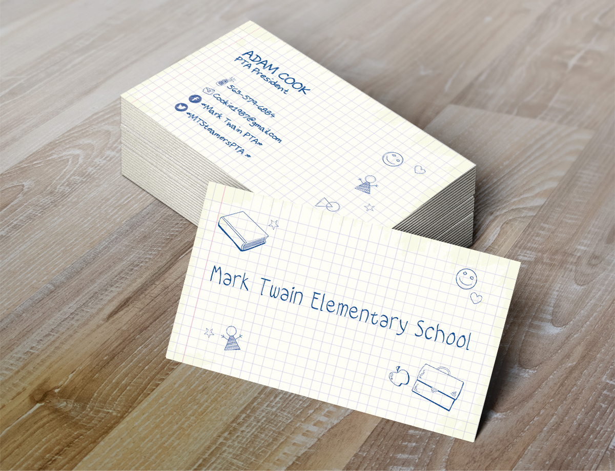 61 Elementary Business Card Designs | School Business Card Design ...