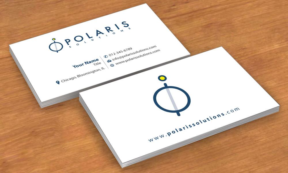 Business business card design for polaris solutions by sbss design business business card design for polaris solutions in united states design 4696788 colourmoves