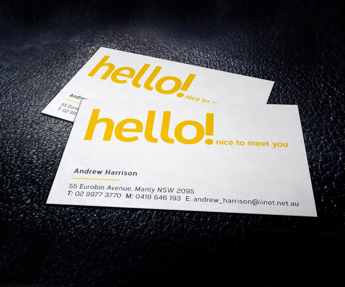 Design De Carte Visite Finance Pour A Company En Aux Australia