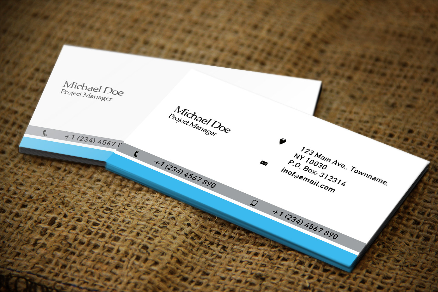 Finance Business Card Design for a Company by Creation Lanka ...