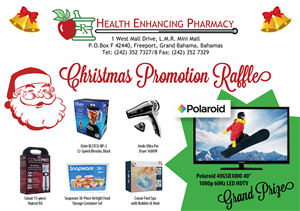 Brochure Design by Creative Type - Pharmacy Christmas Promotion Raffle