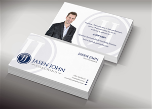 Business Card Design by Lanka Ama - Business Coach needs an elegant business card d...