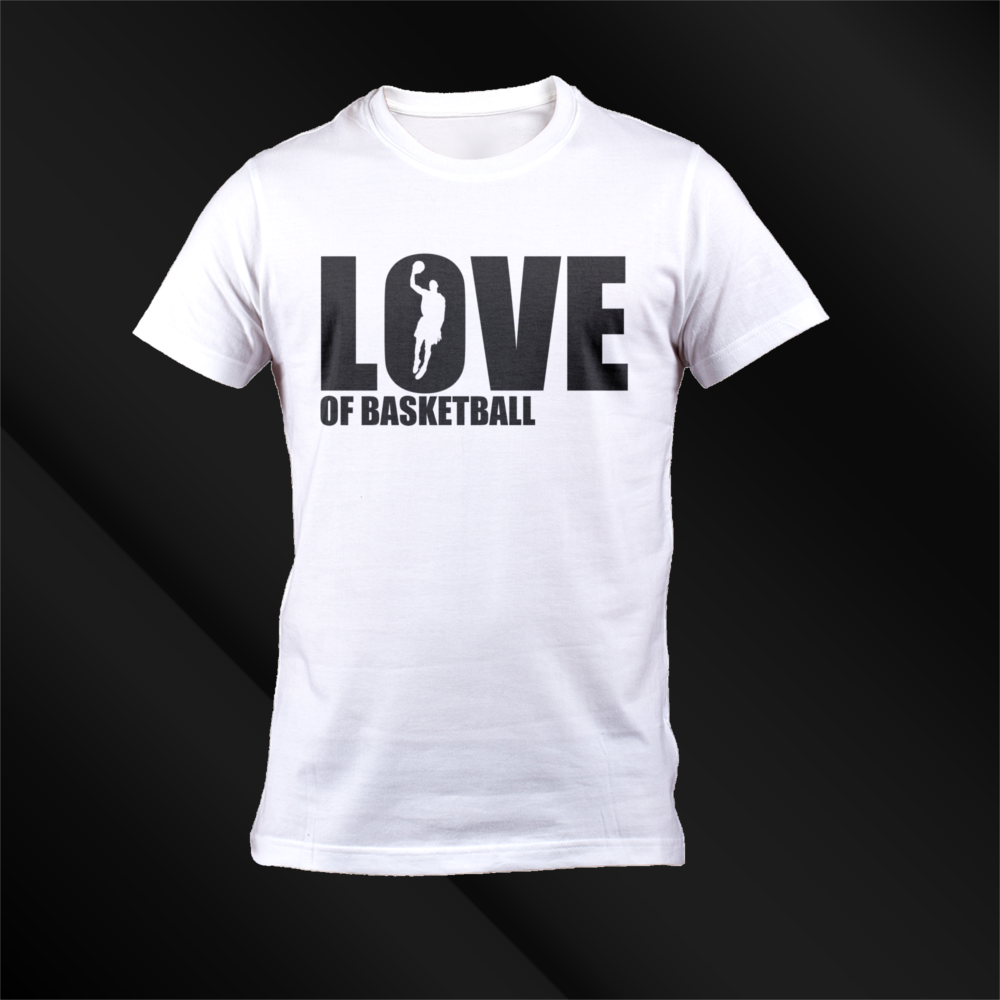 T Shirt Design For Love Of Basketball By Stl Archmadness