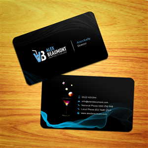 Black Business Card 1669059