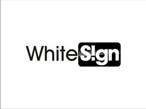 Logo Design job – WhiteSign Ltd. Logo – Winning design by subhadip