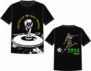 T-shirt Design by S.S. Mulla - footballer without borders