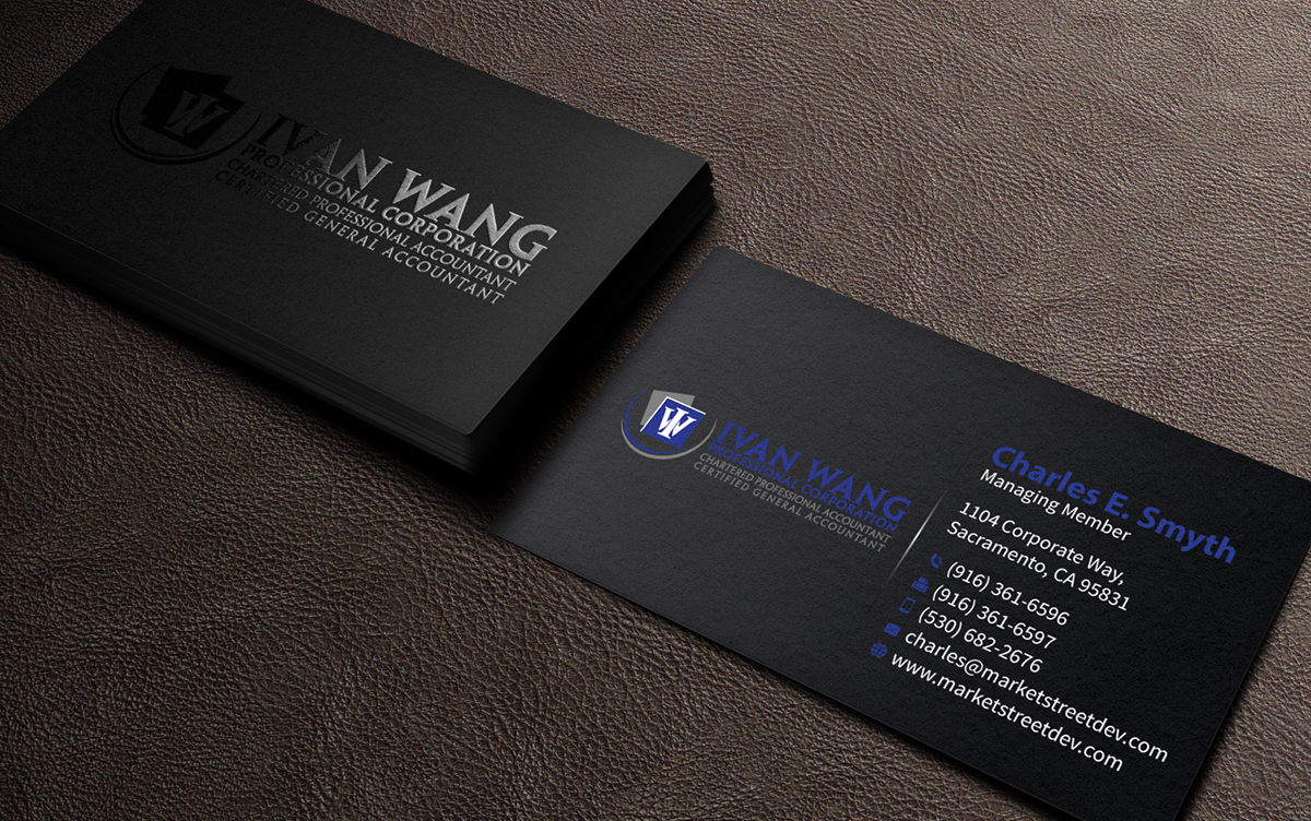 87 business card designs accounting business card design project business card design by mediaproductionart for this project design 4715708 reheart Images