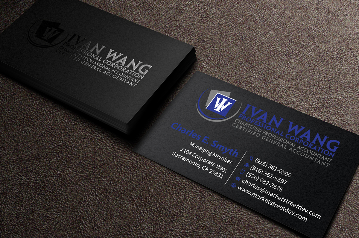 87 Professional Accounting Business Card Designs for a Accounting ...