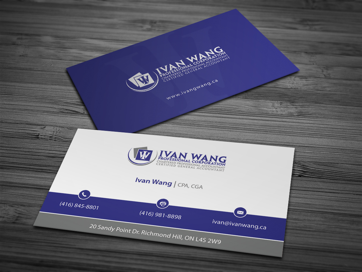 accountants business card - Ideal.vistalist.co