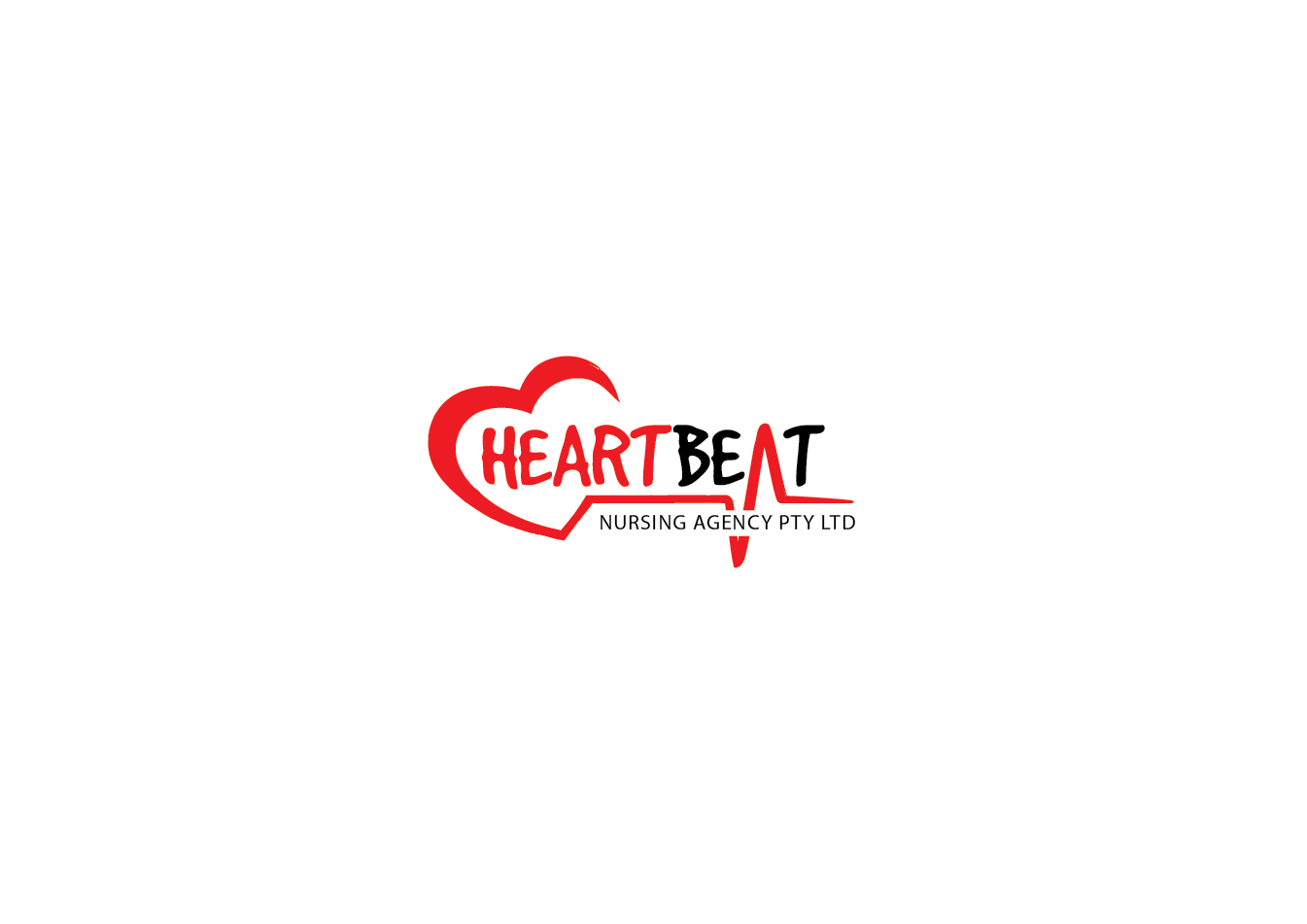 Heartbeat logo design images for Heartbeat design