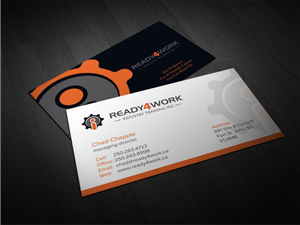 36 Bold Serious Employment Agency Business Card Designs