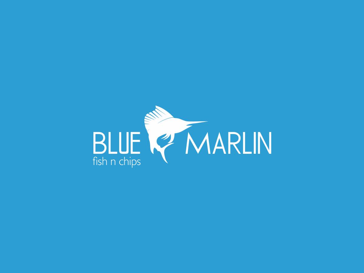 blue marlin logo design contest brief 795985