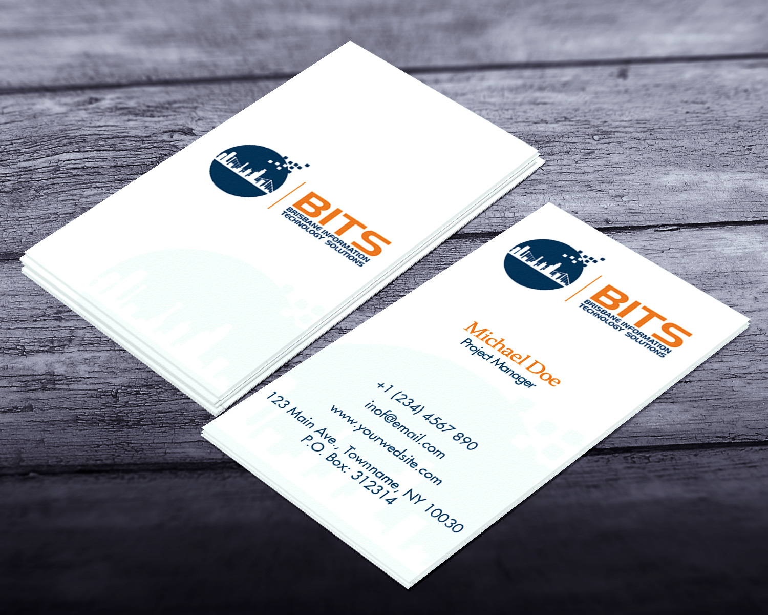 Modern professional business business card design for a company by business card design by creation lanka for this project design 4787356 colourmoves