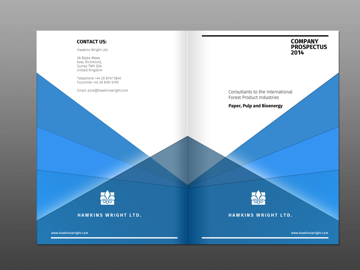 38 Upmarket Serious Brochure Designs for a business in United Kingdom